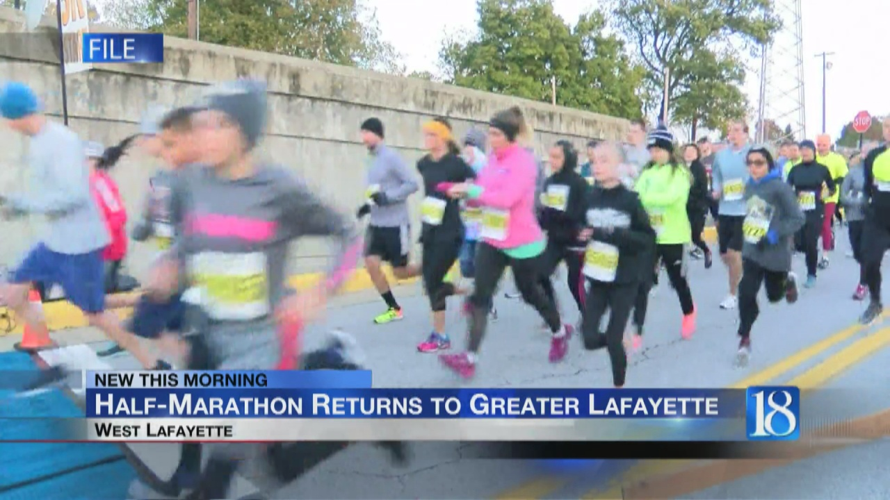Image for Purdue Half-Marathon and 5K returns to Greater Lafayette