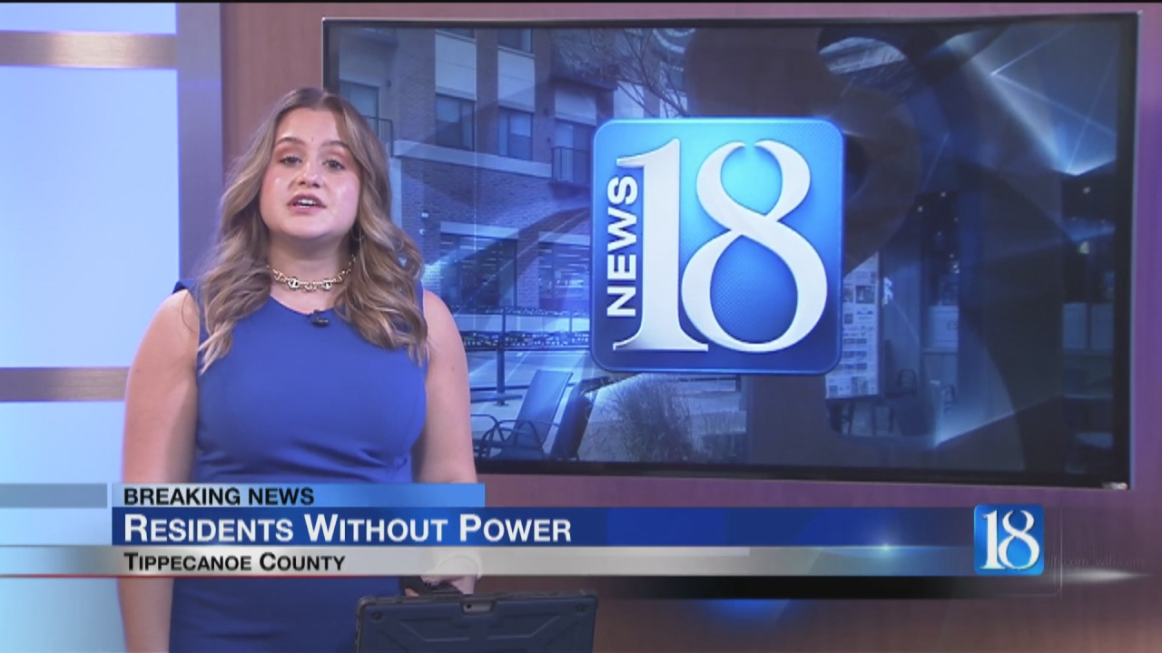 Image for BREAKING: Tippecanoe County Residents Currently Without Power