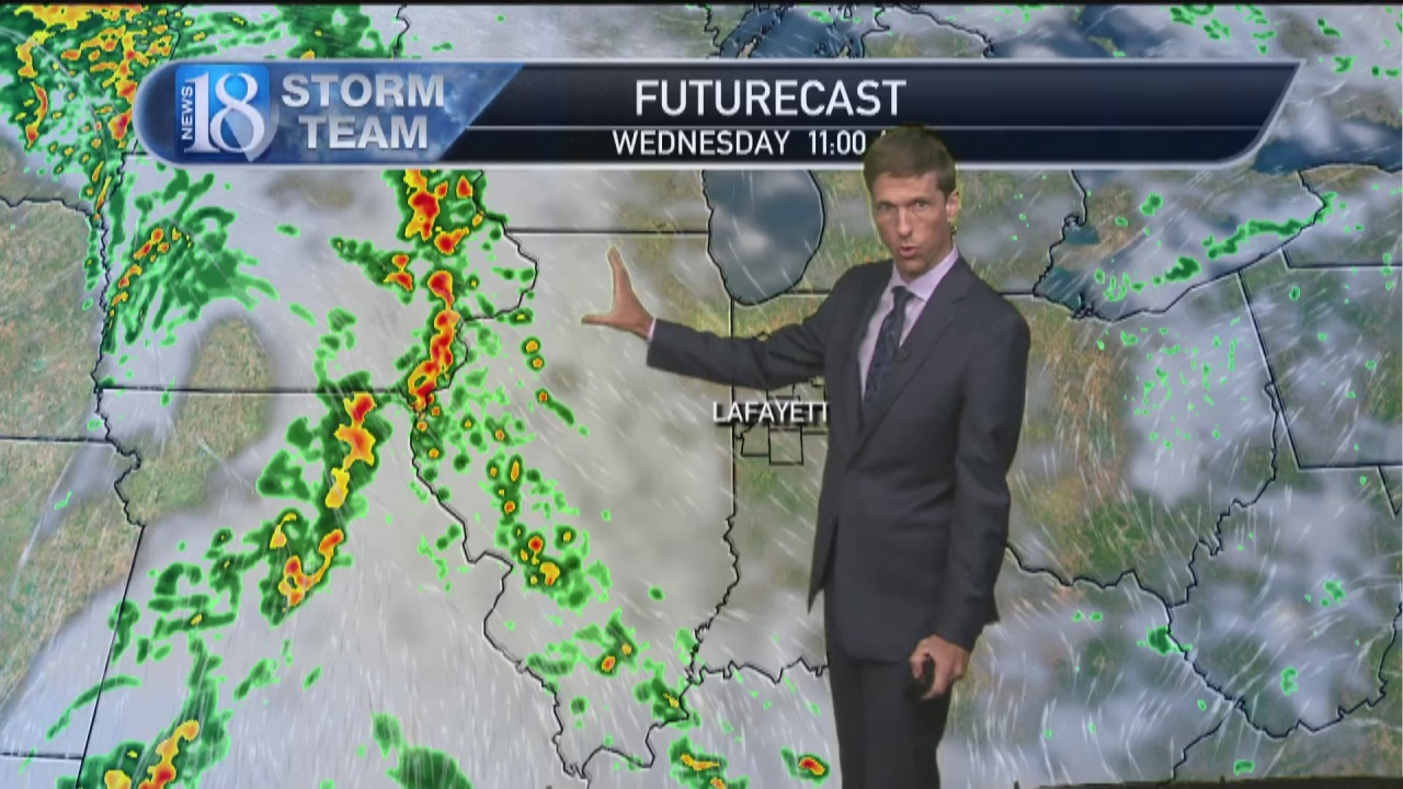 Image for October 12, 5 PM Weather Forecast