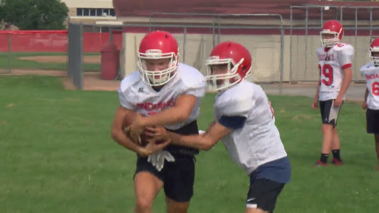 Image for Camp Frenzy: Twin Lakes football makes the most of summer workouts