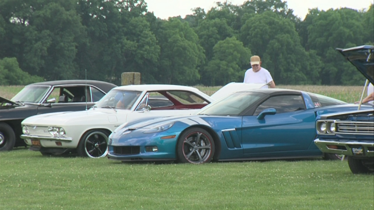 Image for Car show helps celebrate the Wabash Valley's reopening after pandemic