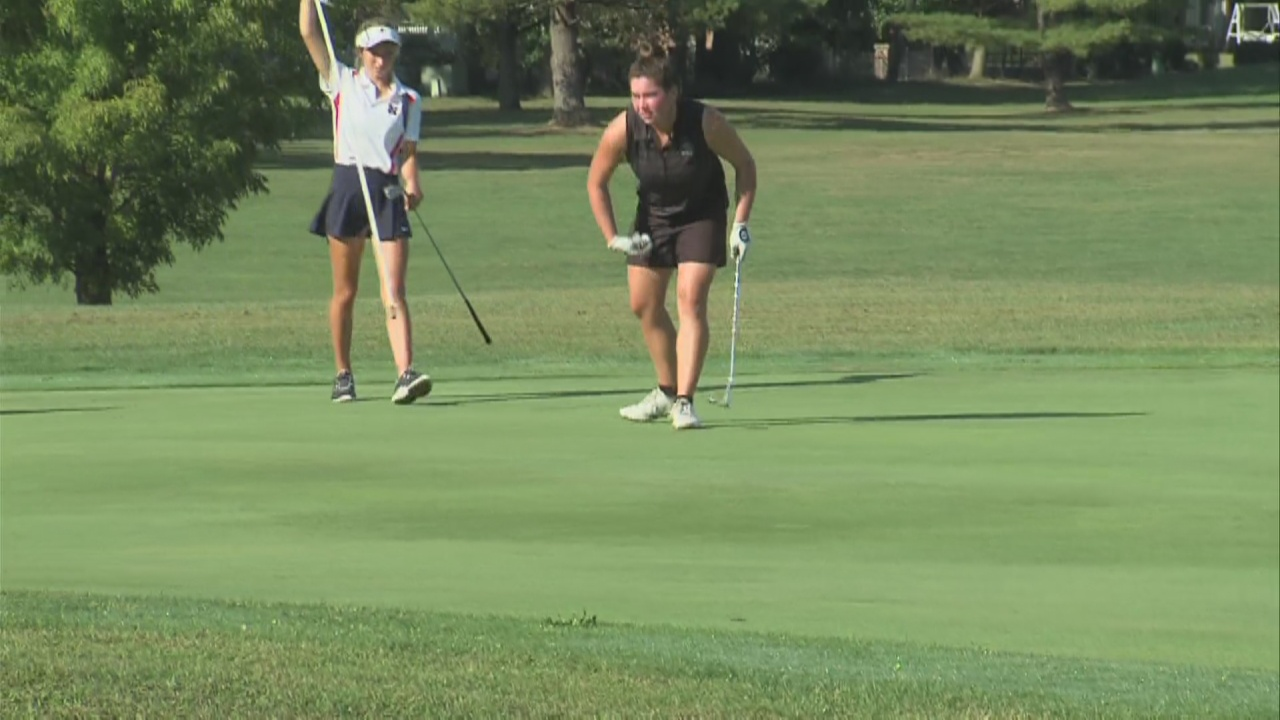 Image for Northview girls golf wins sectional to stay unbeaten on the season