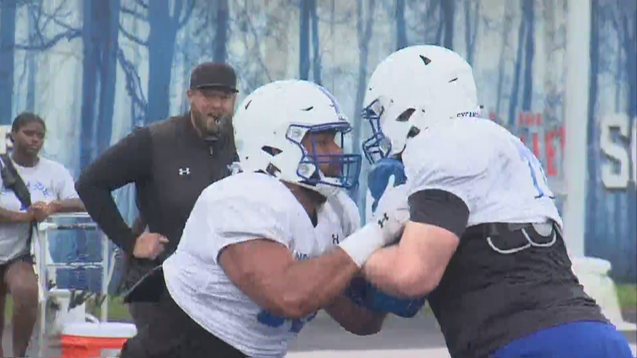 Image for Sycamores Fall Camp Enters its Second Week