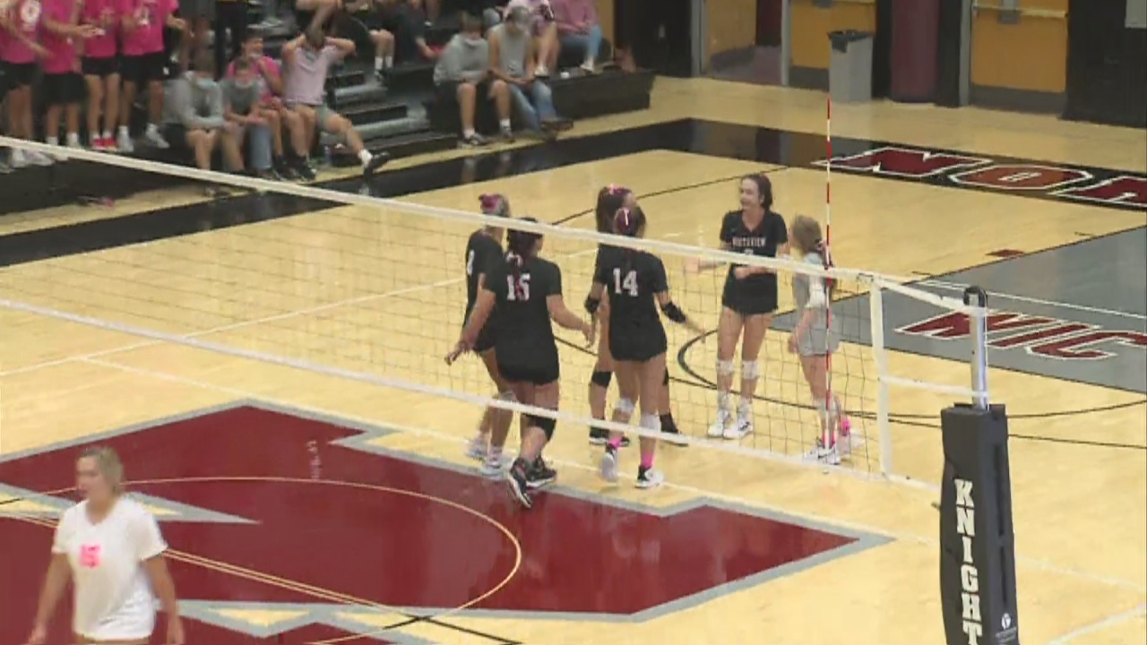 Image for Northview volleyball beats Clay City