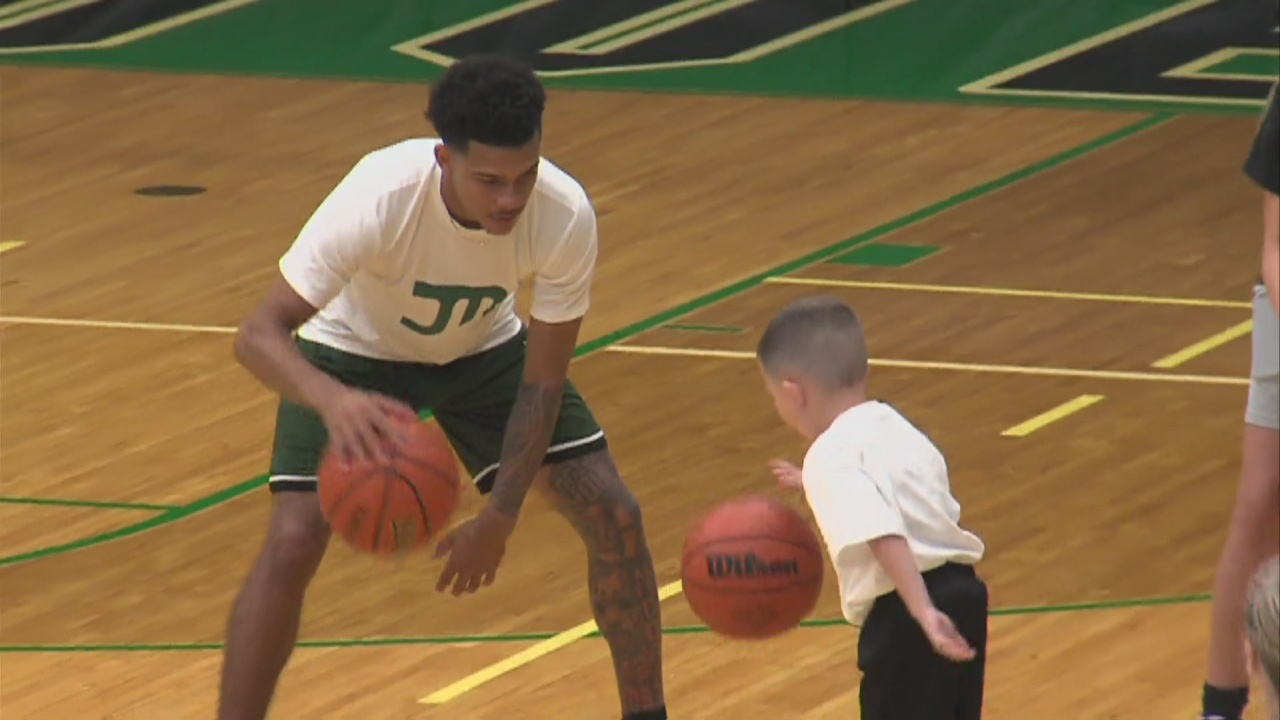 Image for Jalen Moore Basketball Camp a Big Success