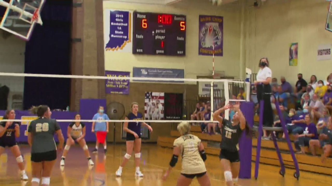 Image for Loogootee volleyball ends Vincennes Rivet win streak