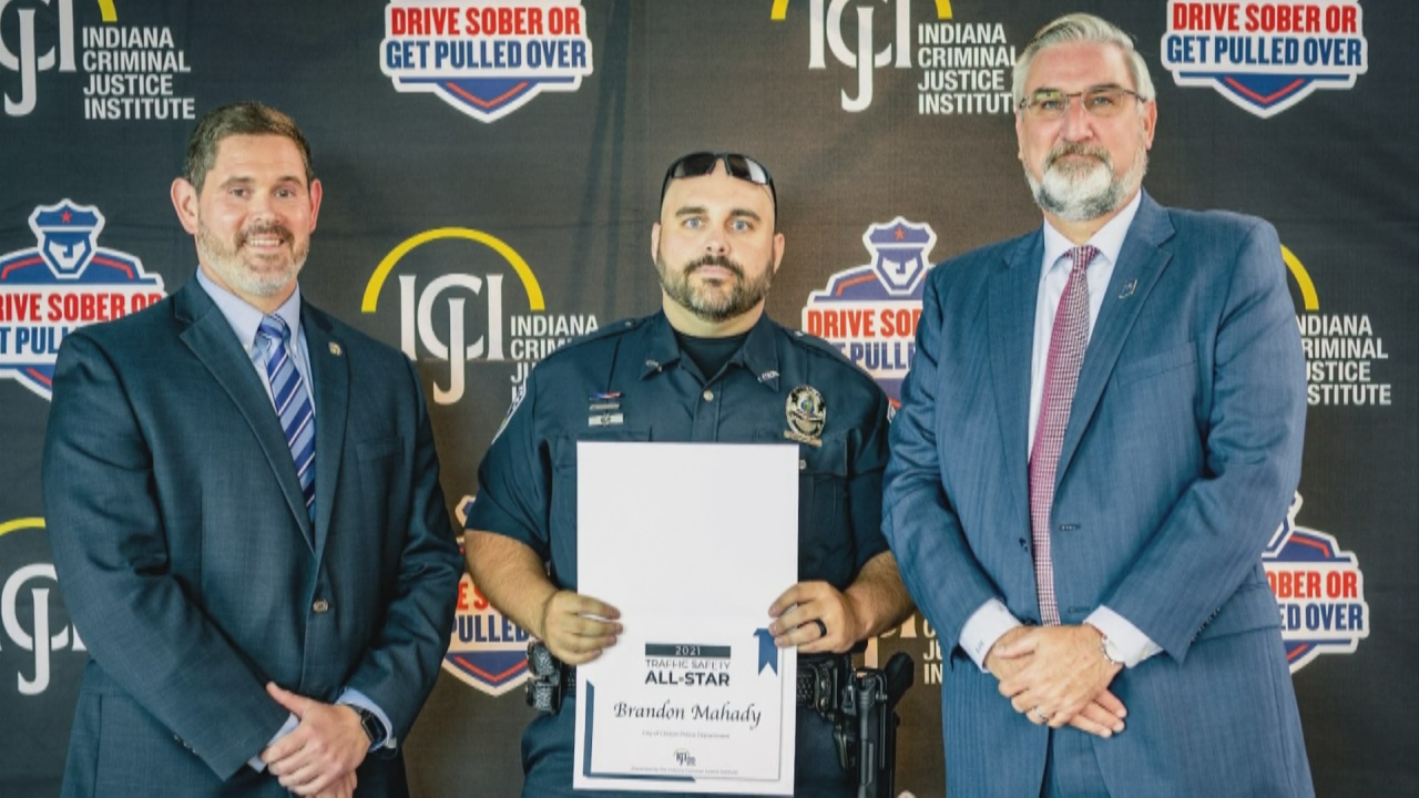 Image for Two local officers honored by the governor for impaired driving enforcement
