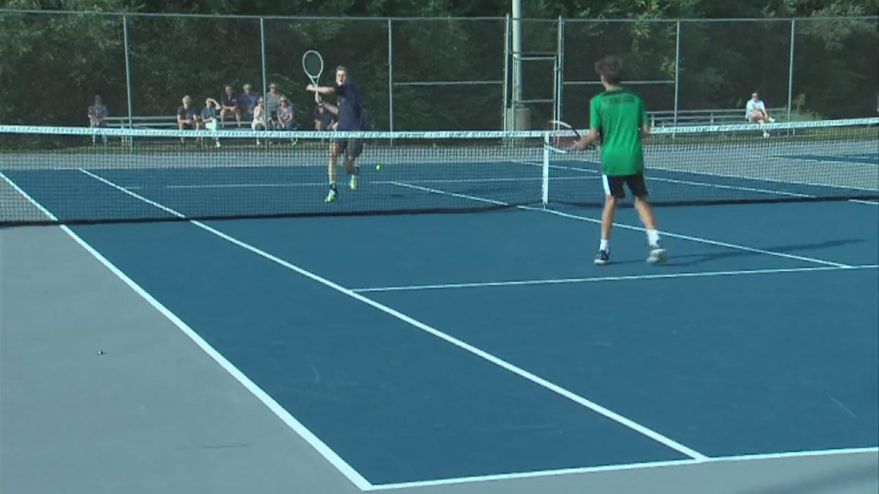 Image for THN boys tennis beats West Vigo