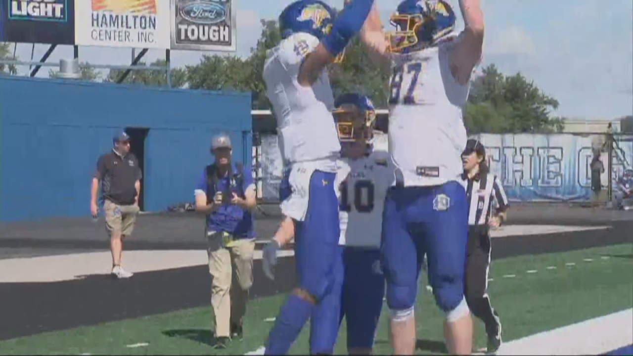 Image for South Dakota State Rolls Indiana State in the MVFC Opener