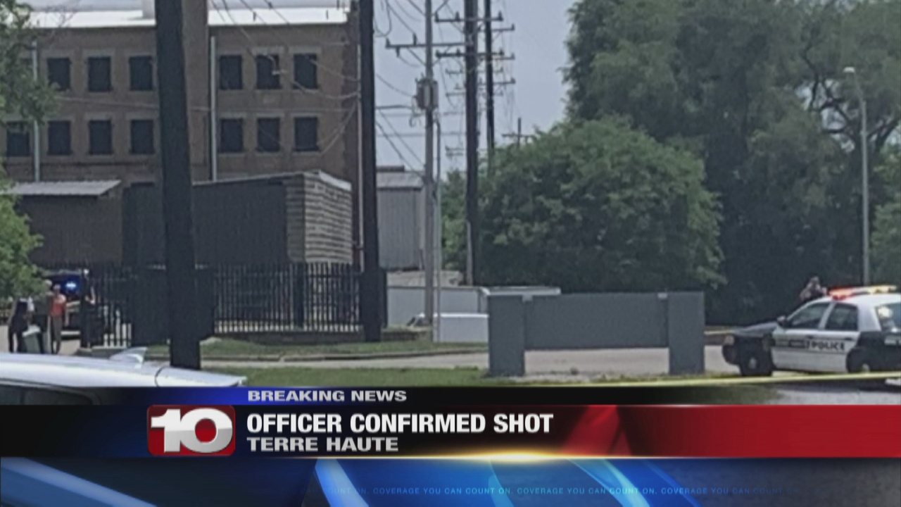 Image for Police set to update media after officer shot in Terre Haute