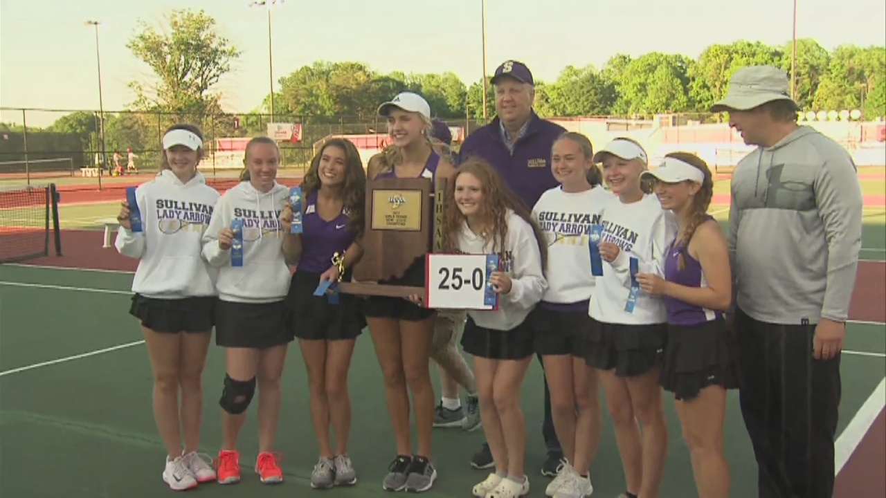 Image for Sullivan Tennis Captures Their Program's First Semi-State Title