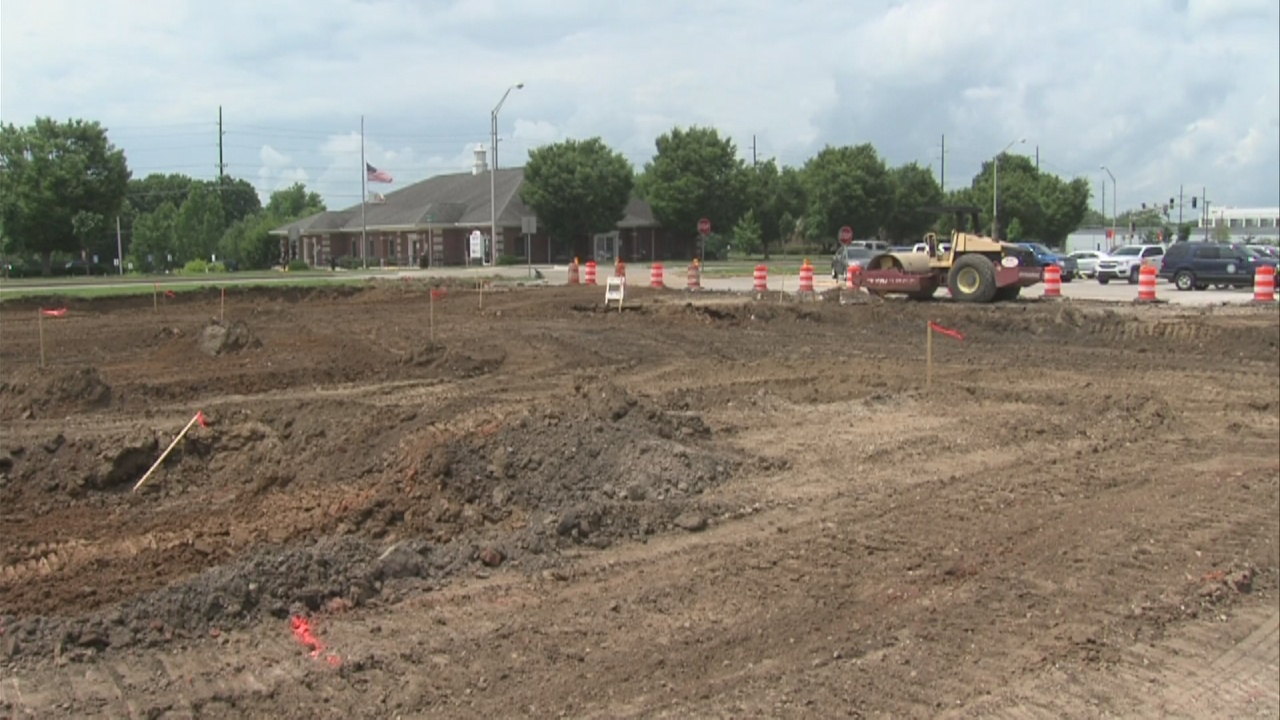 Image for City Hall parking lot seeing improvements