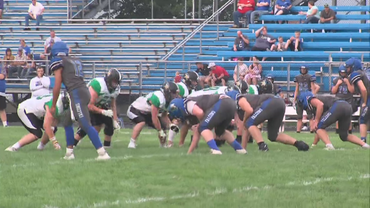 Image for West Vigo Traveled to North Vermillion for a Football Scrimmage