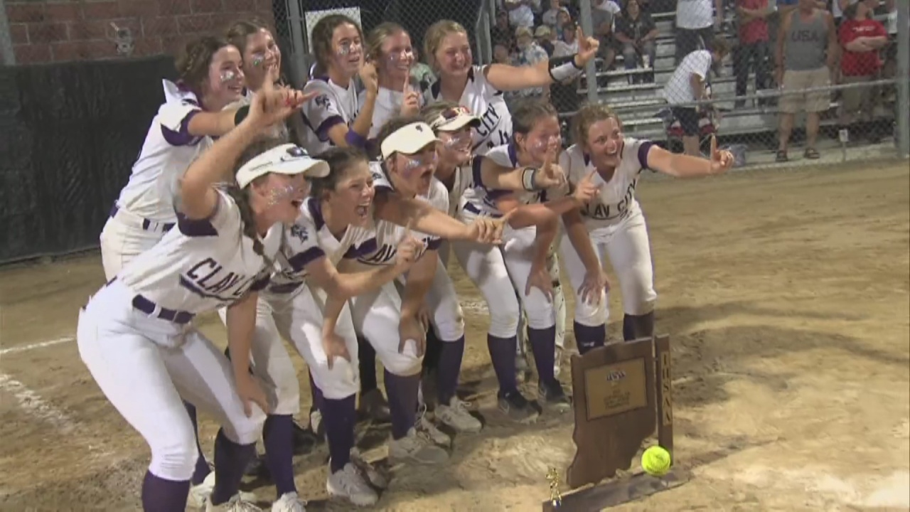 Image for Clay City Claims Their First Softball Semi-State Title