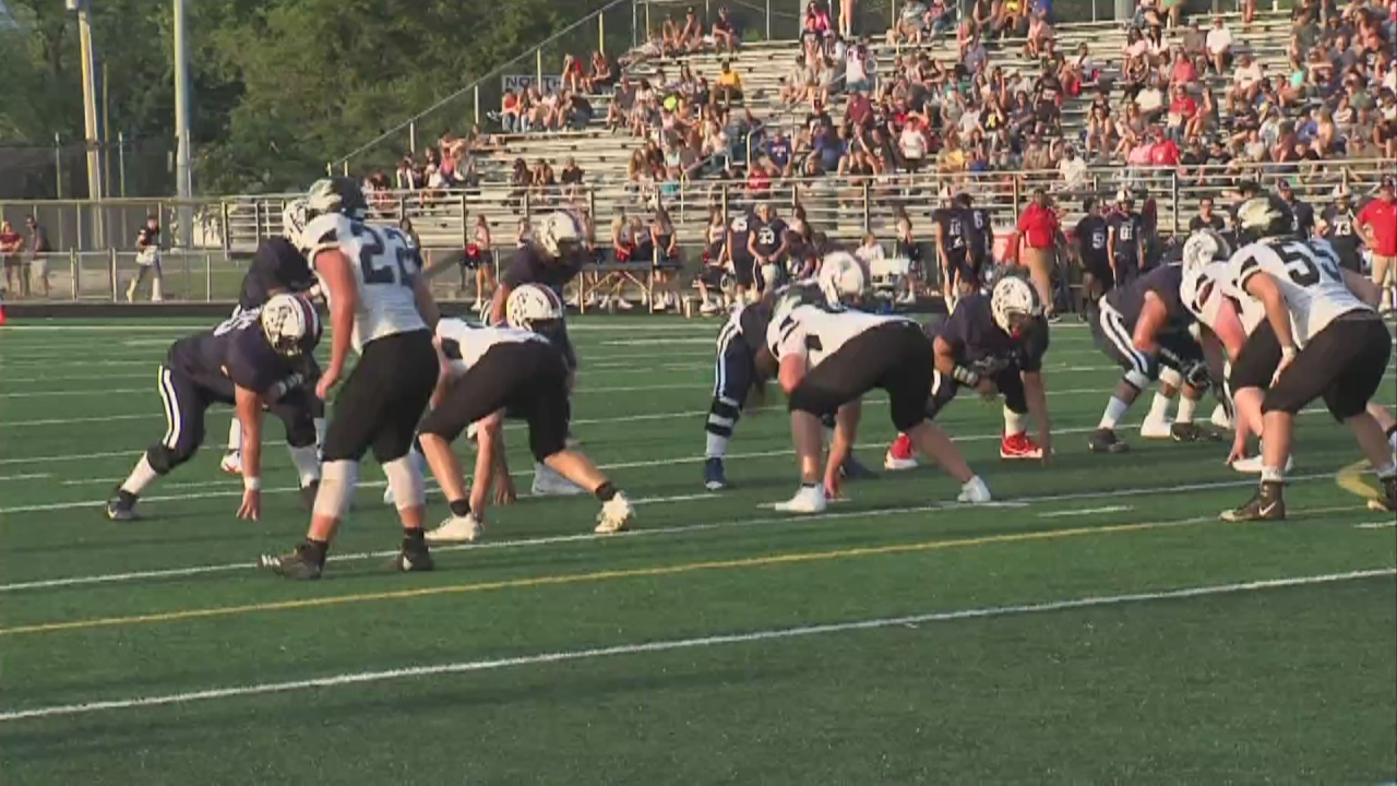 Image for Terre Haute North and South Vermillion Face Off in a Scrimmage