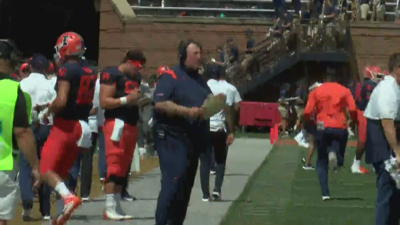 Image for Illinois Begins the Bielema Era with a Win