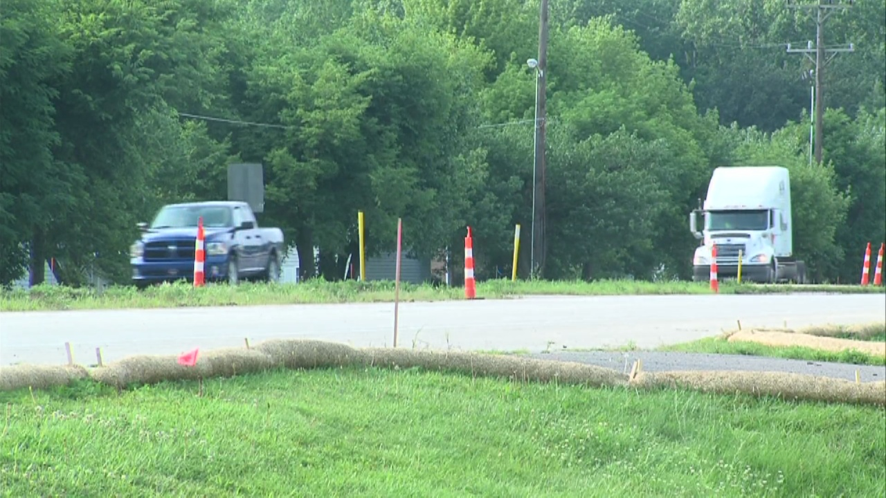 Image for Work is being done on State Road 46
