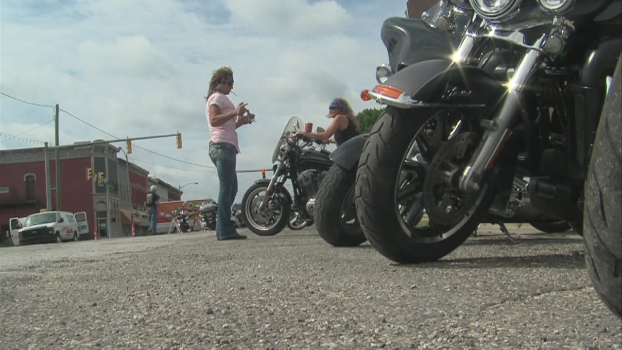 Image for Motorcycle ride benefits educational opportunities