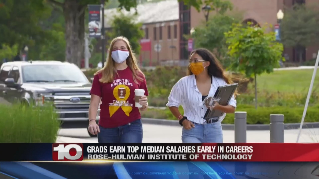 Image for One local university tops a list for alumni salaries