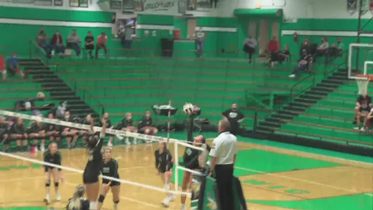 Image for West Vigo volleyball beats South Vermilllion in five games