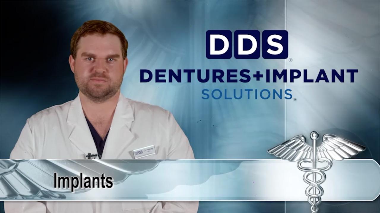 Image for Medical Minute: DDS Dentures + Implant Solutions - Implants