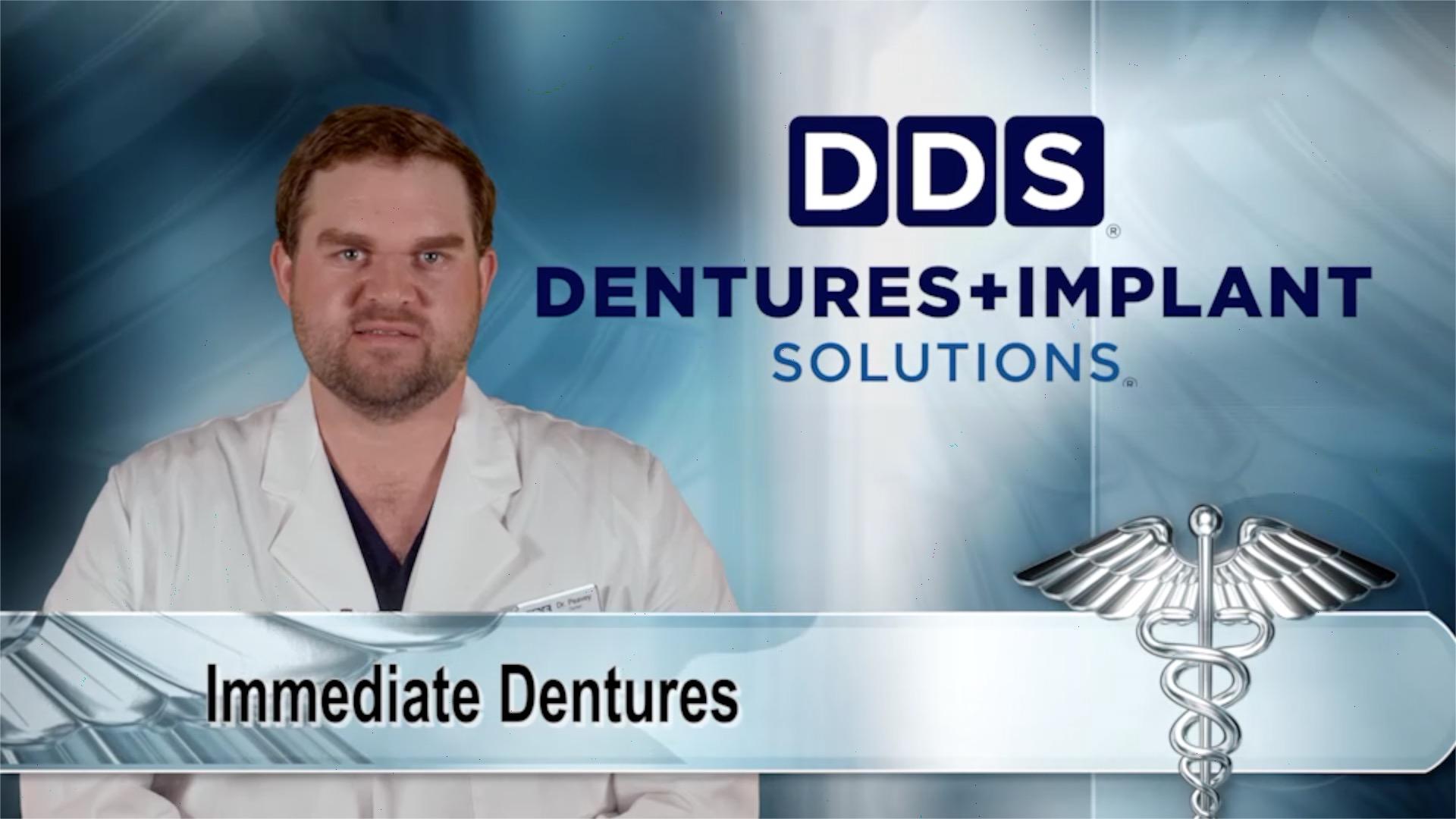 Image for Medical Minute: DDS Dentures + Implant Solutions - Immediate Dentures