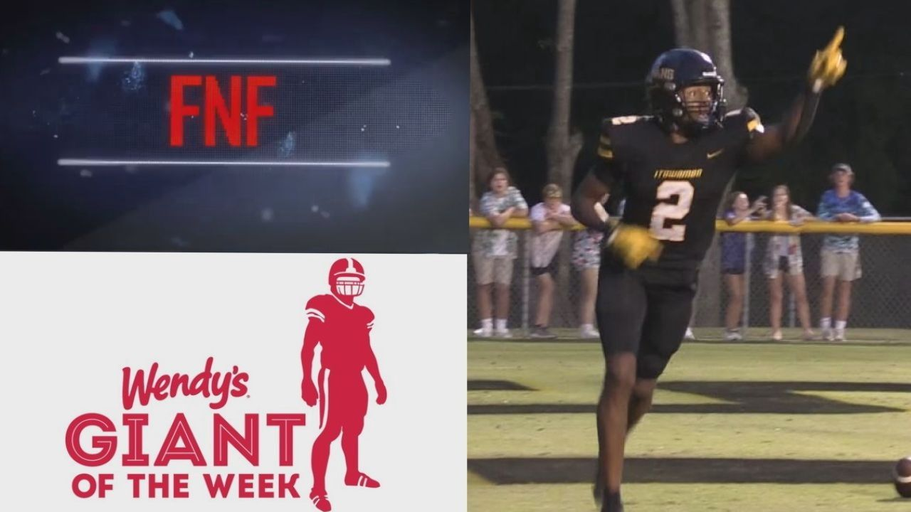 Image for Wendy's Giant of the Week - Isaac Smith