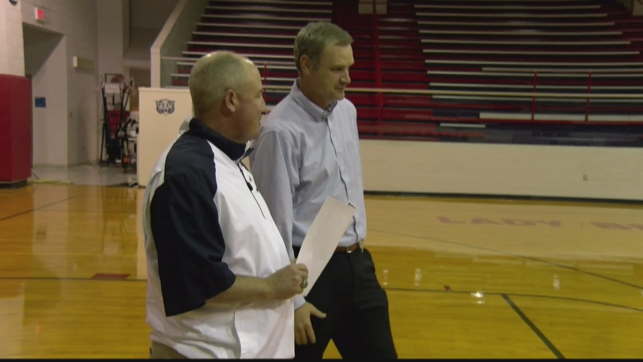 Image for Former Baldwyn superintendent returns to the basketball court