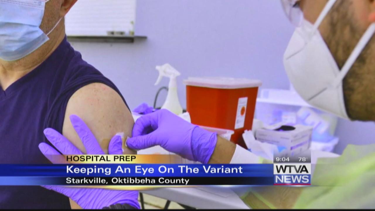 Image for VIDEO - Starkville hospital hopes to avoid delta surge