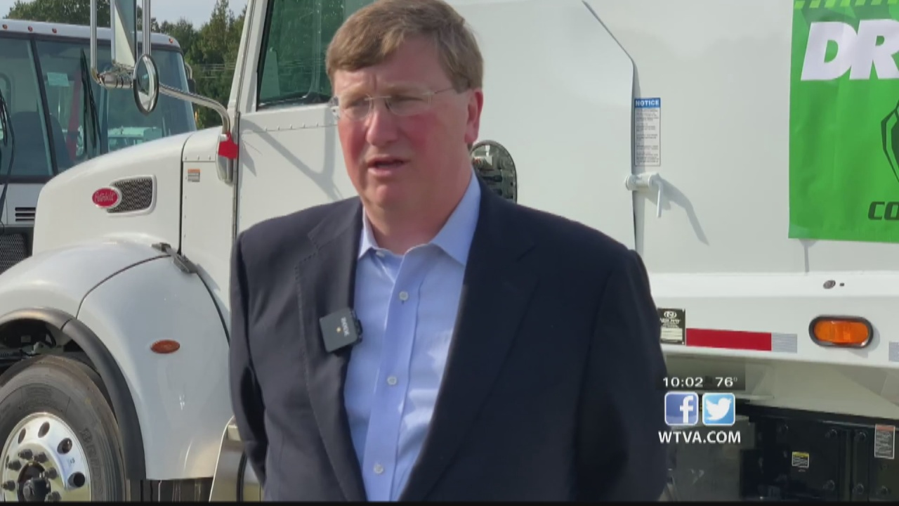 Image for VIDEO - WTVA spoke with Gov. Tate Reeves about medical marijuana program