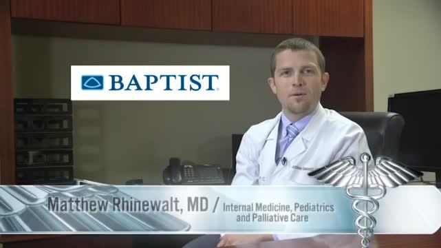 Image for Medical Minute: Baptist Hospital - End of Life Care