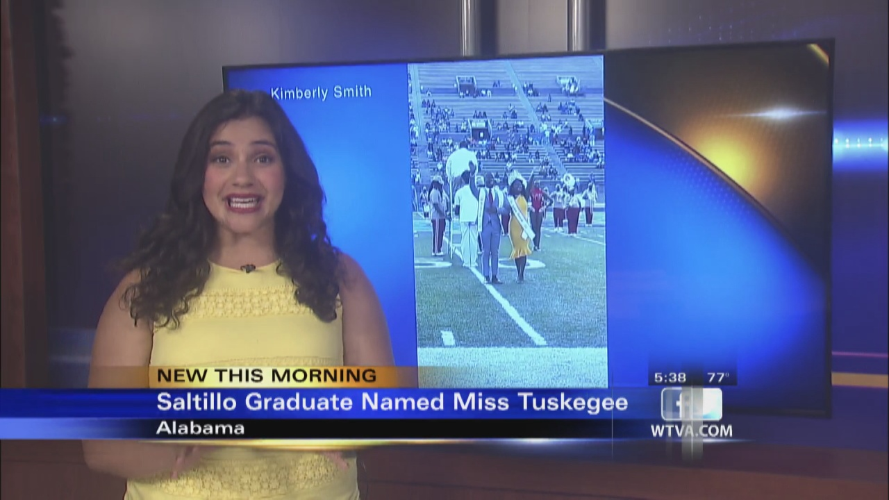 Image for VIDEO - Saltillo graduate crowned Miss Tuskegee University