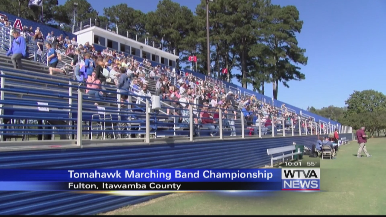Image for VIDEO - Marching band competition held during weekend in Fulton