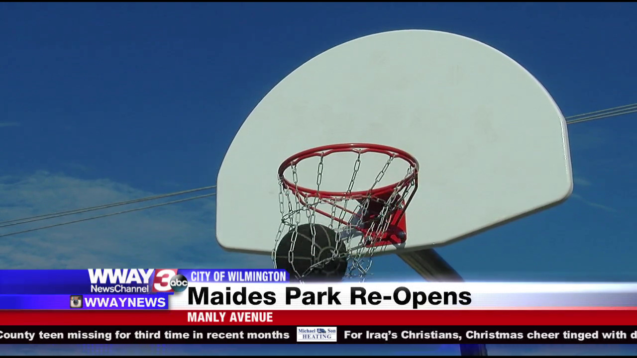 Maides Park Construction Completed WWAY TV - Wway radar