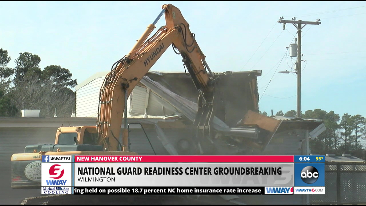 NC National Guard Holds Groundbreaking For New Facility In - Wway radar